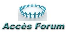Accès au Forum des utilisateurs